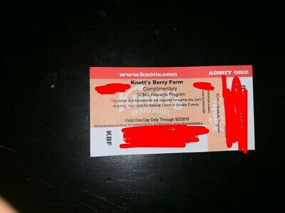 Knotts Berry Farm Ticket