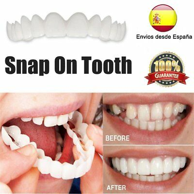 Snap On Snappy Smile Perfect Smile Comfort Fit Flex Teeth Fits Veneers Smi @NEW