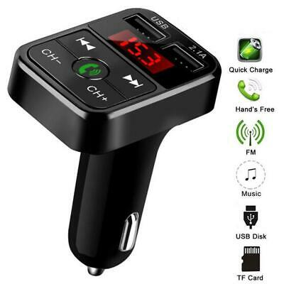 Wireless bluetooth Car FM Transmitter MP3 Player Radio Adapter USB Charger