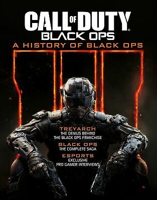 Call Of Duty A History Of Black Ops - Livre PS4 PS3 Xbox One 360 Neuf Envoi
