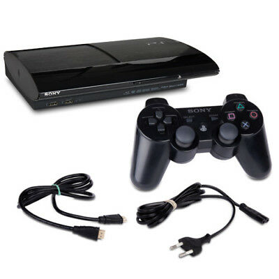 PLAYSTATION 3 - PS3 Console Super Slim 500 GB 4004C Nero + Controller + HDMI