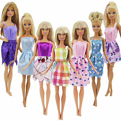 12Pcs Wedding Fashion Gown Dresses Clothes For 11 inch Dolls Barbie size RANDOM