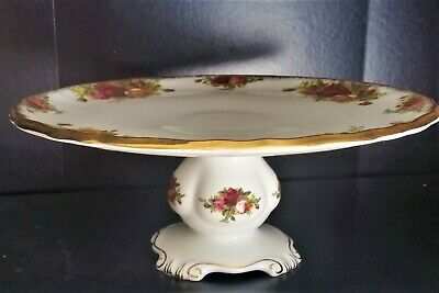 Royal Albert Old Country Roses Pedestal Footed 23cm Cake Stand