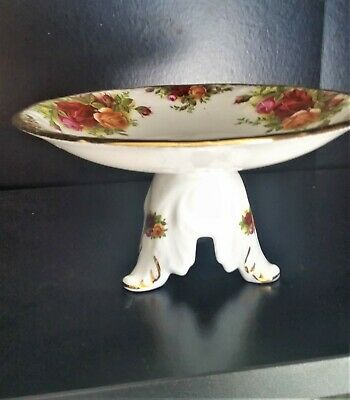 Royal Albert Old Country Roses Pedestal Footed 6 ins Cake Stand comport