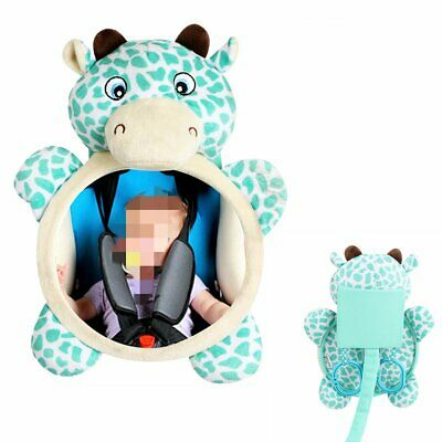 Baby Rear Facing Deer Mirrors Safety Kids Car Back Seat Easy View Mirror