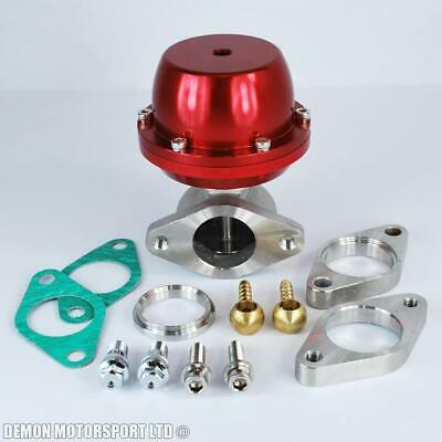 38mm External Wastegate Kit (Red) - Demon Motorsport
