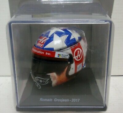 Casco Helmet Romain Grosjean 2017 1/5 Spark Editions