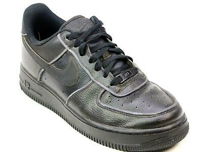 Sports Trainers Black Nike Size Leather 1 Sneaker Force Classic Low 6 Air Unisex 4c3LjRq5A