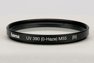 UV Filtro 390 Hama 55 mm Coated O-Haze