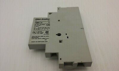 Allen Bradley 140M-C-A  Auxiliary Contact Series A 690V 10 Amp Nnb