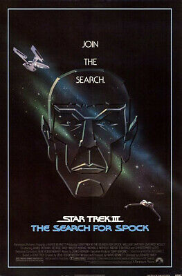 Star Trek III: The Search For Spock (1984) Original Poster Película - Ss -