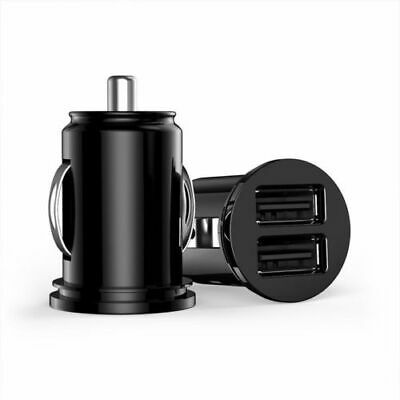 Car 2 Port Dual USB Mini Bullet Charger Adapter 12V Power For Cell Phone 2018