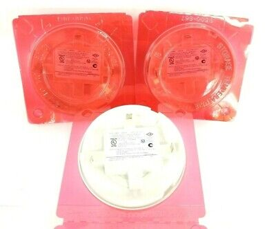 Lot Of 3 New Tyco 4098-9733 Simplexgrinnell Heat Sensors Analog 24Vdc