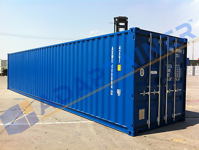 NEW 40ft Shipping Containers Southampton - Ideal for Storage - with FREE light