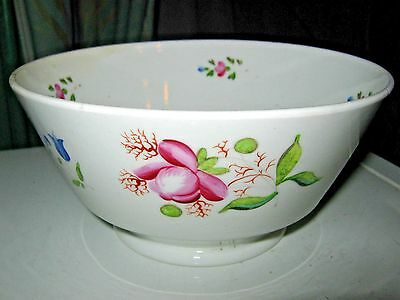 c1780-1820 ANTIQUE GEORGIAN BOWL (RIM 6 inches) - 1 of 2 items listed