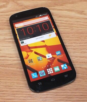 ZTE Black / Grey Smartphone Style Fake Screen Dummy Phone Only READ