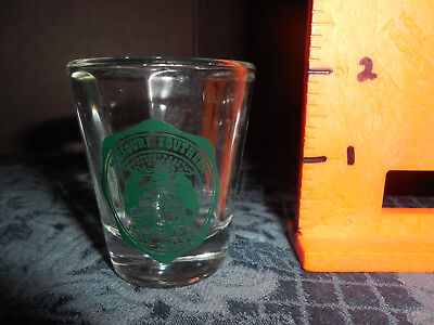 Souvenir  Missouri Southern State College Shot Glass  Euc