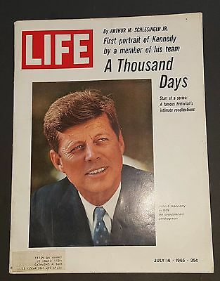 July 16, 1965 LIFE Magazine JFK  1,000 Days Old ads FREE SHIPPING 7 Nam war era