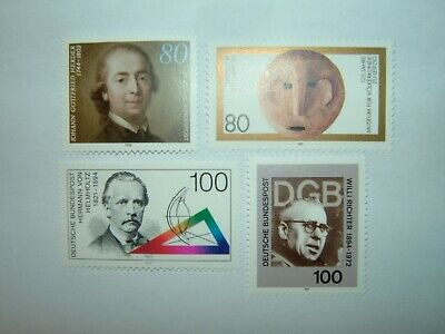 1994 GERMANY STAMPS SELECTION x 4 MINT NEVER HINGED (sg2589/95)