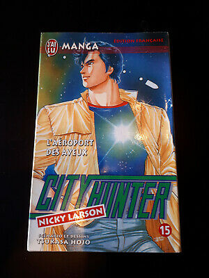 City Hunter vol 15 - Tsukaza Hojo - Edition J'ai lu