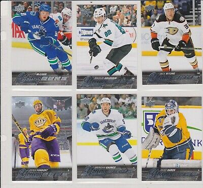 2015-16   Lot Of 6 Upper Deck Rookies Young Guns   No-Yg -195