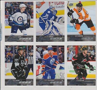 2015-16   Lot Of 6 Upper Deck Rookies Young Guns   No-Yg -196