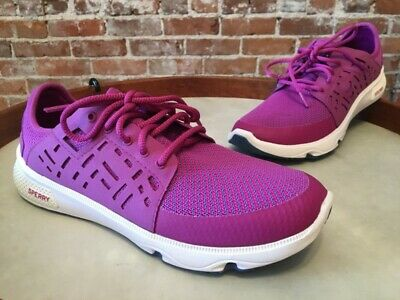 Sperry Top Sider Berry Pink 7 Seas Sport Mesh Laced Boat Sneaker 9 40 NEW