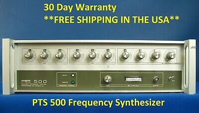 Programmed Test Sources PTS 500 Frequency Synthesizer