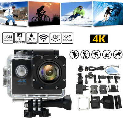 SJ9000 Digital Action LCD Camera 4K HD Wifi 1080P Waterproof DVR Sport Camcorder