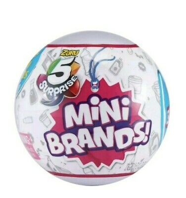 5 Surprise! Mini Brands - 1 Ball - Made By Zuru! Authentic - New 2019