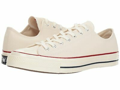 Converse US 11 Mens Cream Chuck Taylor All Star 70 Core Low Top Canvas Shoes
