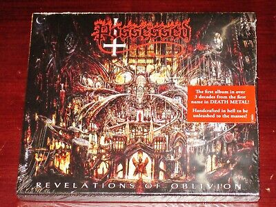 Possessed: Revelations Of Oblivion CD 2019 Nuclear Blast NB 4880-2 Slipcase NEW