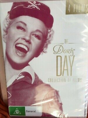 The Doris Day Collection Of Films - 4 disc - NEW - *FREE STD POST*