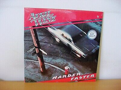 "APRIL WINE ""Harder … Faster"" Original STILL SEALED LP 1979 (CAPITOL ST-12013)"