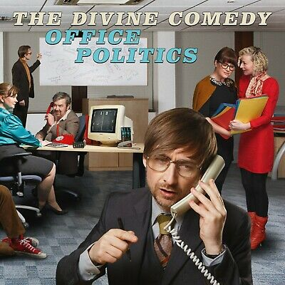 THE DIVINE COMEDY Office Politics (Limited Edition)  2 CD  NEU & OVP 07.06.2019
