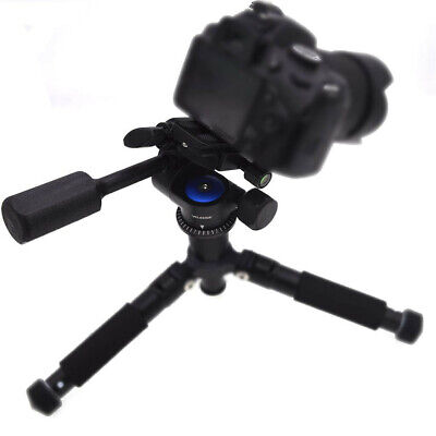 Camera Video Tripod Ball Head 360 Damping Single Handle With 1/4 Quick Release