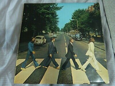 "THE BEATLES - Abbey Road - UK Stereo LP No ""Her Majesty"" Credit - 1/2 - VG"