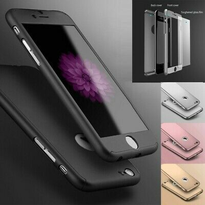 Case For iPhone 6s 7 8 5s Plus XR XS Shockproof 360 Bumper Hybrid Phone Cover