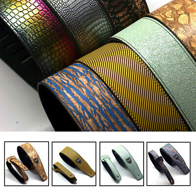 Adjustable Widening PU Leather Straps for Acoustic Electric Guitars bass
