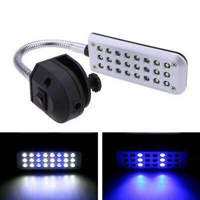 The LED Aquarium Light Arm Clip on Plant Grow Fish Tank With Lighting Lamp Hot