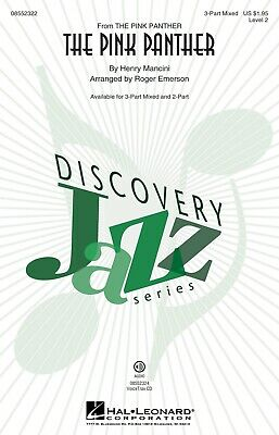 The Pink Panther (Discovery Level 2) 3-Part Mixed arranged by Roger Emerson