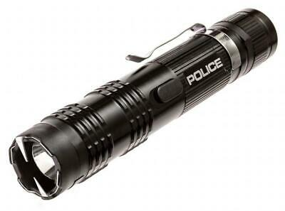POLICE Stun Gun M12-53 Billion Metal Rechargeable with LED Tactical...
