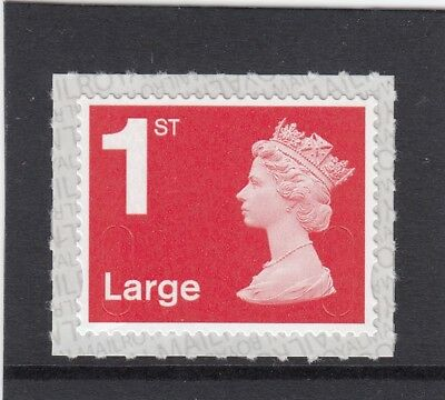 GB 2018 1st LARGE SELF ADHESIVE M18L SBP2i MNH ROYAL MAIL from Counter Sheet