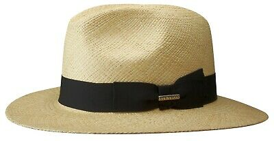 7141f5077e3cab Stetson Panama Summer Straw Hat Hat Hats Traveller Marcellus Natural 7 New  Trend