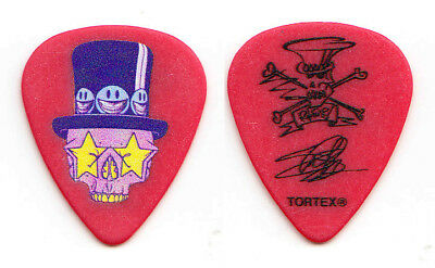 Guns N' Roses Slash Signature Caricature Red/Yellow Guitar Pick - 2018 Tour GNR