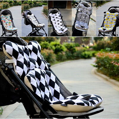 Newborn Baby Car Seat Stroller Liner Cushion Mat Pushchair Cotton Pad Cover GOUS