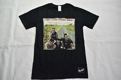 The Clash Combat Rock T-Shirt Nuova Ufficiale Rock The Casbah Should i Stay O