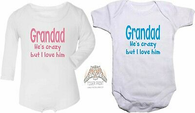 BG013 YOU CAN DO IT GRANDAD Funny Baby Grow Body Suit Vest BUY 3 GET 1 FREE