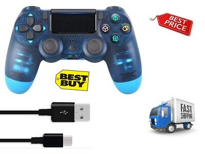 Ps4 Controller Dualshock 4 Wireless Controller For Playstation 4 (Berry Blue)