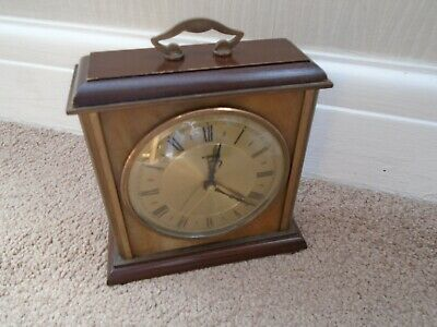 Vintage Retro 1960s Metamec Quartz Mantle Carriage Clock